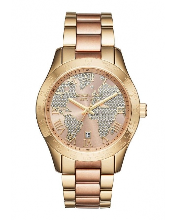 Часы Michael Kors Layton Rose Gold-tone Dial Ladies Watch MK6476
